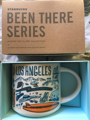 Starbucks 2018 Been There Series Los Angeles 14 ounce collector coffee mug NEW