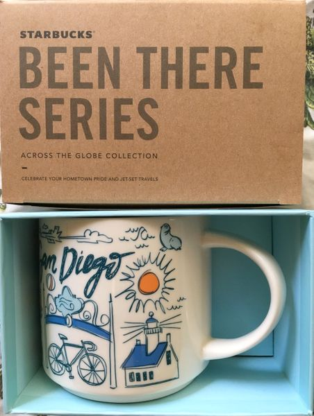 Starbucks 2018 Been There Series San Diego 14 ounce collector coffee mug NEW