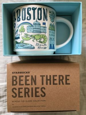 Starbucks 2018 Been There Series Boston 14 ounce collector coffee mug NEW