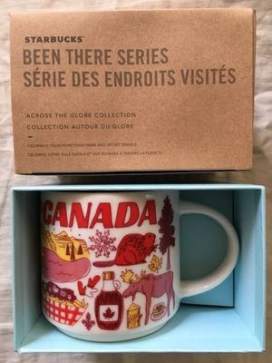 Starbucks 2018 Been There Series Canada 14 ounce collector coffee mug NEW