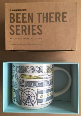 Starbucks 2018 Been There Series Chicago 14 ounce collector coffee mug NEW
