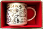 Starbucks 2018 Been There Series Hawaii Holiday 14 ounce collector coffee mug NEW