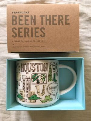 Starbucks 2018 Been There Series Houston 14 ounce collector coffee mug NEW