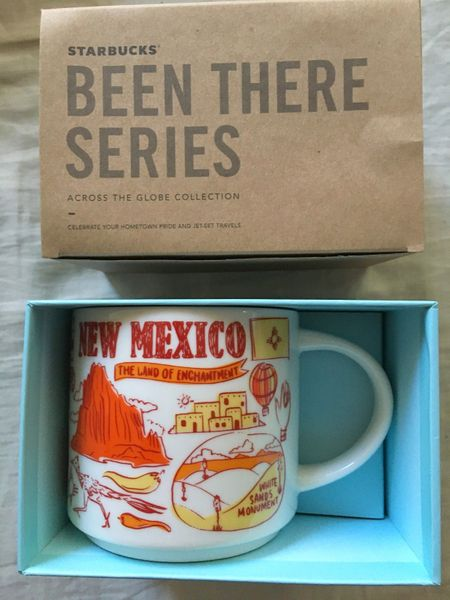Starbucks 2018 Been There Series New Mexico 14 ounce collector coffee mug NEW