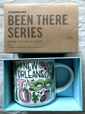 Starbucks 2018 Been There Series New Orleans 14 ounce collector coffee mug NEW