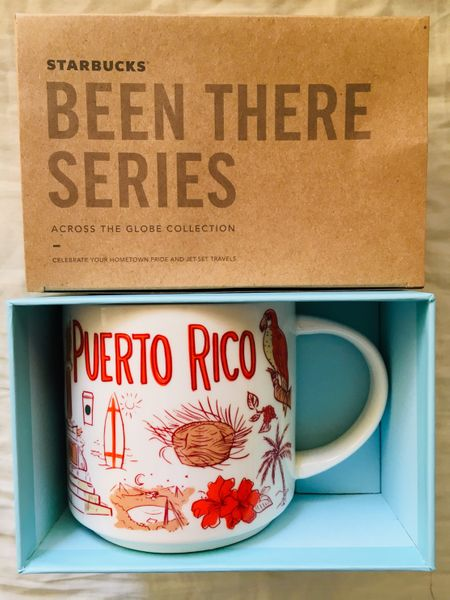 Starbucks 2018 Been There Series Puerto Rico 14 ounce collector coffee mug NEW