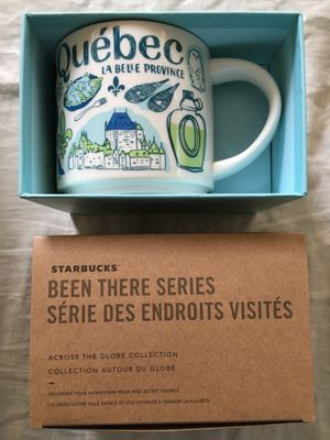 Starbucks 2018 Been There Series Quebec 14 ounce collector coffee mug NEW