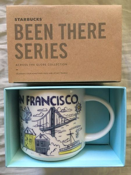 Starbucks 2018 Been There Series San Francisco 14 ounce collector coffee mug NEW