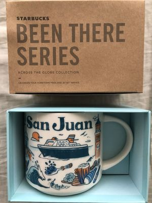 Starbucks 2018 Been There Series San Juan 14 ounce collector coffee mug NEW