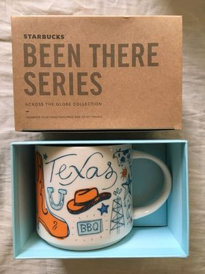 Starbucks 2018 Been There Series Texas 14 ounce collector coffee mug NEW