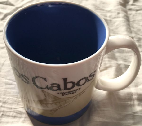 Starbucks 2008 Global Icon Series Los Cabos 16 ounce collector coffee mug NEW