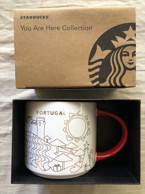 Starbucks 2013 You Are Here Collection Portugal Holiday 14 ounce collector coffee mug NEW