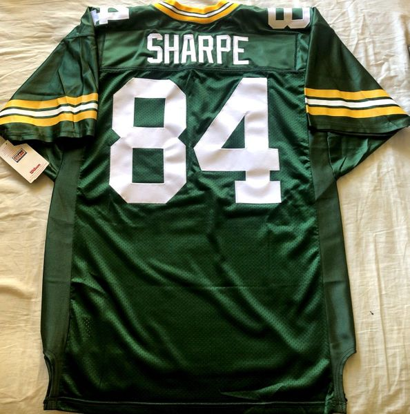 Sterling Sharpe Green Bay Packers early 1990s authentic Wilson Pro Line game model jersey NEW WITH TAGS