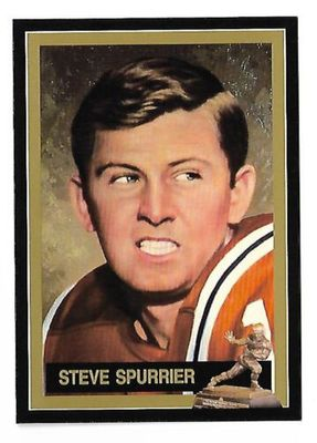 Steve Spurrier Florida Gators 1966 Heisman Trophy winner card