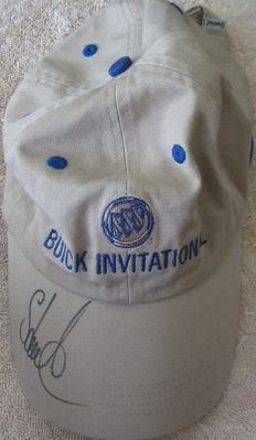 Stuart Appleby autographed Buick Invitational PGA Tour golf cap or hat