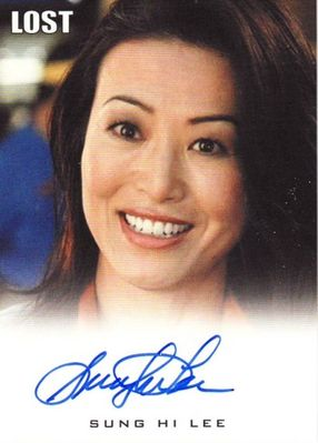 Sung Hi Lee LOST 2010 Rittenhouse certified autograph card