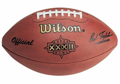 Super Bowl 32 authentic Wilson NFL game model football