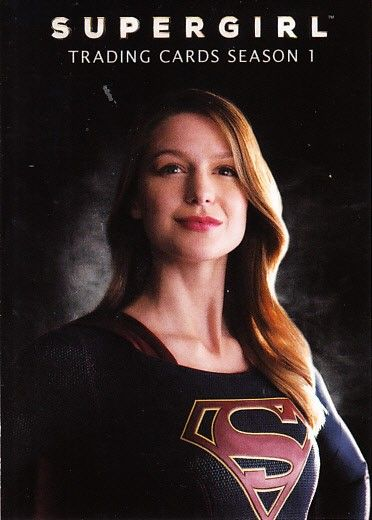 Supergirl Season 1 Cryptozoic 2018 Wondercon promo card P4 (Melissa Benoist)