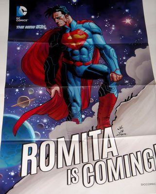 Superman 2014 DC Comics New 52 Romita Is Coming! poster