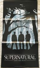 Supernatural 2014 Comic-Con TV Guide magazine with Join the Hunt foldout poster