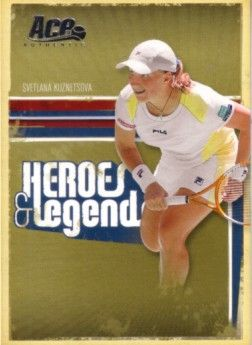 Svetlana Kuznetsova 2006 Ace Authentic card