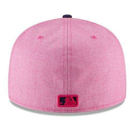 Tampa Bay Rays 2018 Mother's Day pink authentic New Era 59FIFTY fitted game model cap or hat NEW
