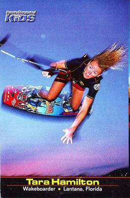 Tara Hamilton 2001 Sports Illustrated for Kids card