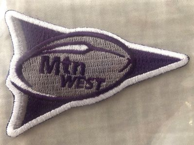 TCU Horned Frogs Mountain West Conference jersey patch