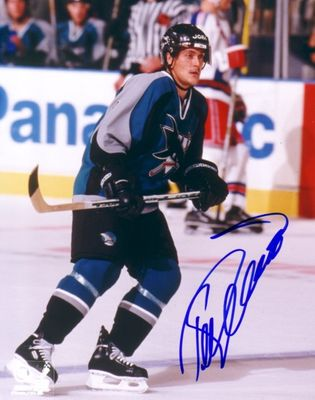 Teemu Selanne autographed San Jose Sharks 8x10 photo