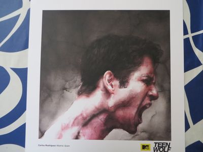Teen Wolf 2015 Comic-Con artwork 18x18 lithograph or poster (Scott)