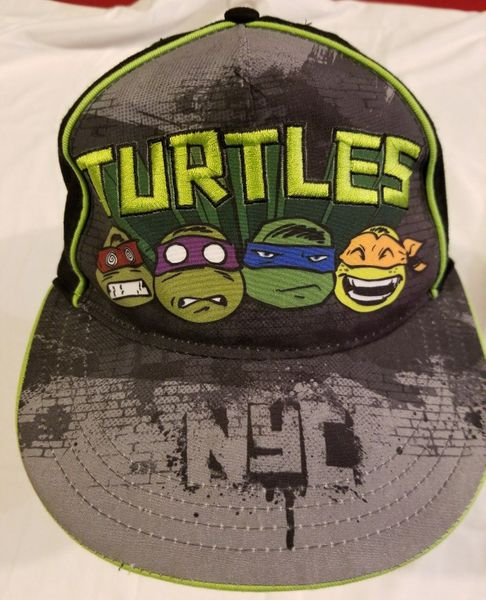 Teenage Mutant Ninja Turtles NYC embroidered cap or hat (snapback)