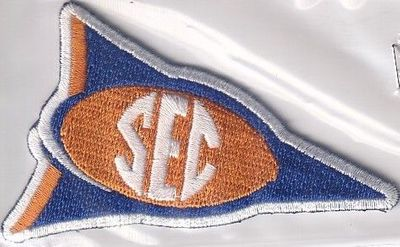 Tennessee Volunteers SEC Conference football jersey patch