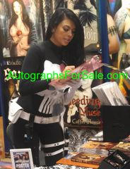 Tera Patrick autographed FHM magazine sexy full page photo