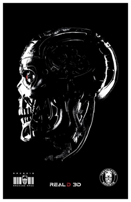 Terminator Genisys AMC Theatres exclusive mini movie poster