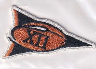 Texas Longhorns Big 12 Conference football jersey patch