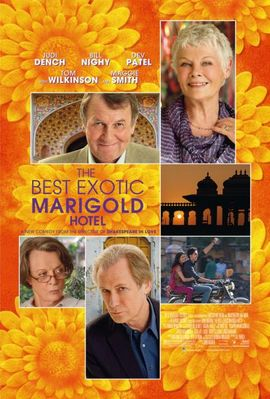 The Best Exotic Marigold Hotel mini movie poster (Judi Dench)