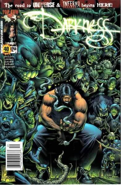 The Darkness Image Comics comic book issue #40