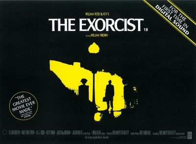 The Exorcist 1999 re-release mini 12x16 inch movie poster