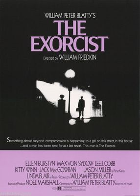 The Exorcist 24x34 inch movie poster (1998 reprint)