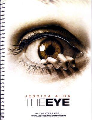The Eye movie promo spiral blank notebook or notepad (Jessica Alba)