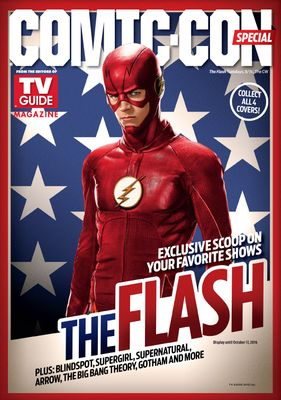 The Flash 2016 Comic-Con TV Guide magazine (Grant Gustin)