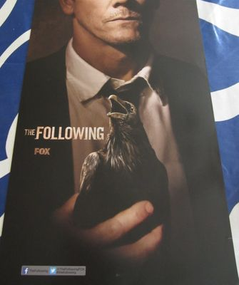 The Following 2013 Comic-Con 11x17 mini promo poster (Kevin Bacon)