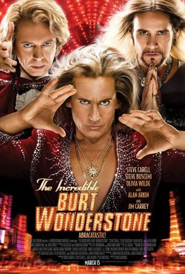 The Incredible Burt Wonderstone mini movie poster (Steve Carell)