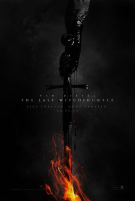 The Last Witch Hunter mini 13x20 movie poster (Vin Diesel)