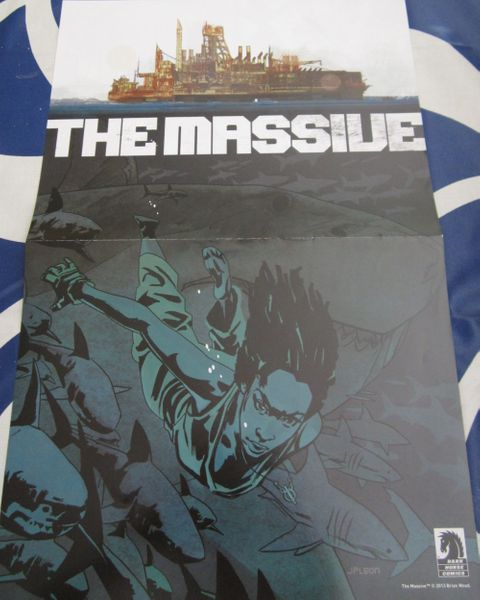 The Massive & MIND MGMT comic book double sided Dark Horse Comics poster