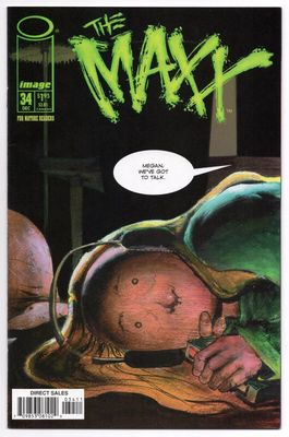 The Maxx Image Comics comic book issue #34