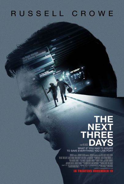 The Next Three Days mini movie poster (Russell Crowe)