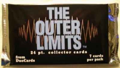 The Outer Limits 1997 DuoCards sealed foil pack (7 cards)