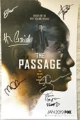 The Passage cast autographed 2018 Comic-Con poster (Henry Ian Cusick Mark-Paul Gosselaar)