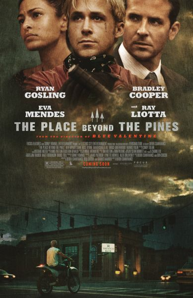 The Place Beyond the Pines mini movie poster (Bradley Cooper Ryan Gosling Eva Mendes)